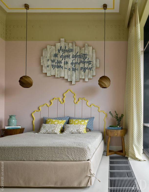 Идеи украшения и декора спальной комнаты в обычной квартире