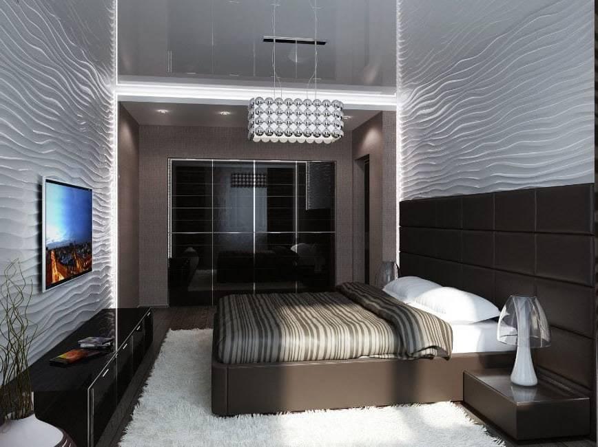 Спальня в хрущевке: актуальный дизайн, 60 фото