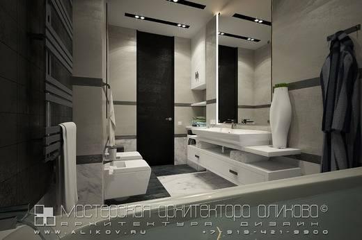 Ванная в стиле хай-тек (62 фото): дизайн маленькой комнаты в однокомнатной квартире, выбор мебели и сантехники
