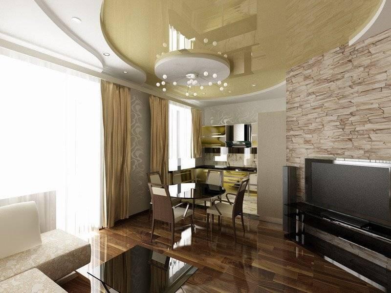 Кухня, совмещенная с гостиной, в «хрущевке» (50 фото): дизайн объединенной с залом комнаты