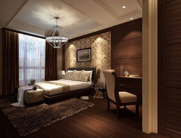 Коричневая спальня: лучшие дизайнерские решения 2019 года! топ-120 лучшего фото эксклюзивного дизайна спальни коричневого цвета
