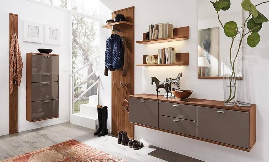 Подбираем в прихожую мебель в современном стиле, актуальные решения