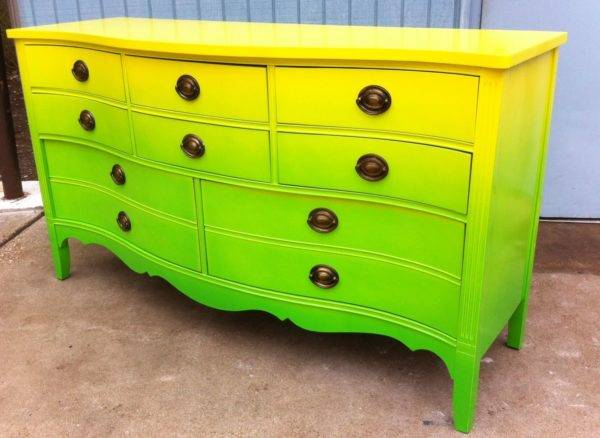 Покраска шкафа своими руками