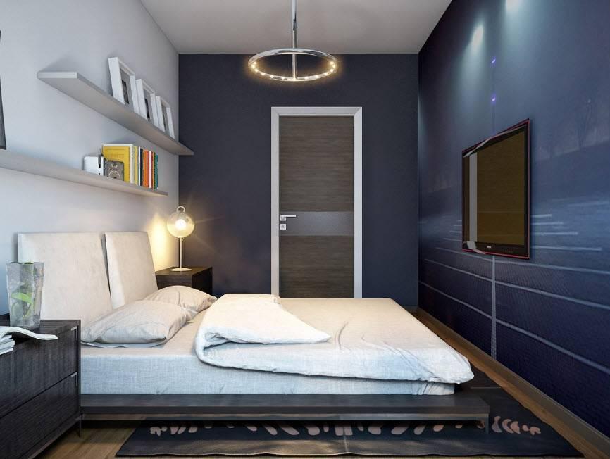 Спальня 13 кв. м: 100+ фото идей [лучшие интерьеры 2019 года]