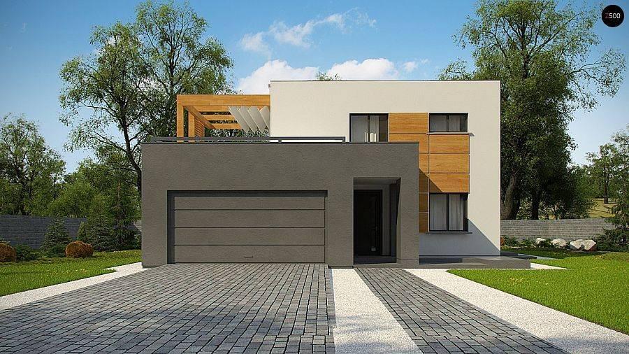 Дома с плоскими крышами – интересные проекты с красивым и модным дизайном