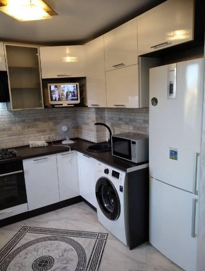 Кухня 7 кв. м. – красивое оформление стильных и практичных идей дизайна (115 фото) – строительный портал – strojka-gid.ru