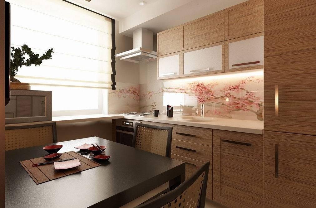 Кухня в японском стиле от отделки до декора (30 фото)