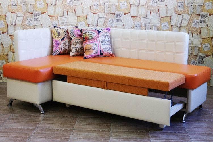 Угловой диван на кухню: виды, особенности, критерии выбора
