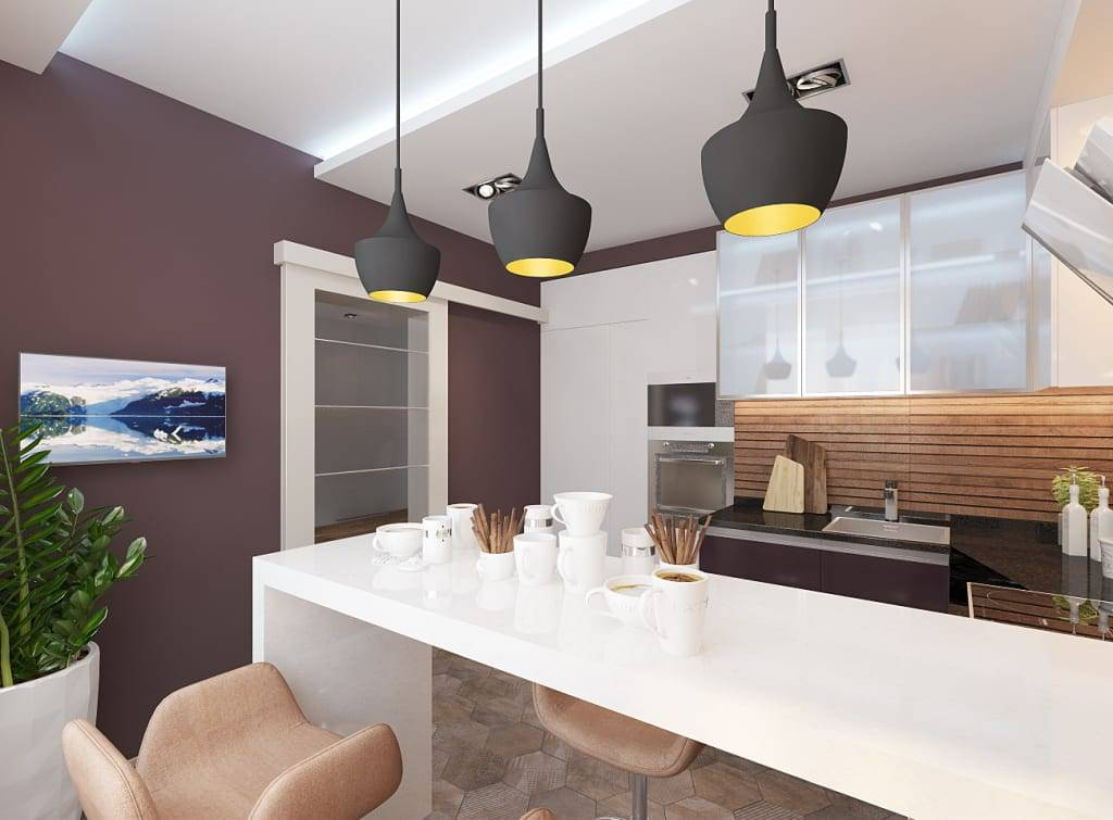 Кухня 6 кв. м — 12 советов по дизайну и ремонту, 70 фото