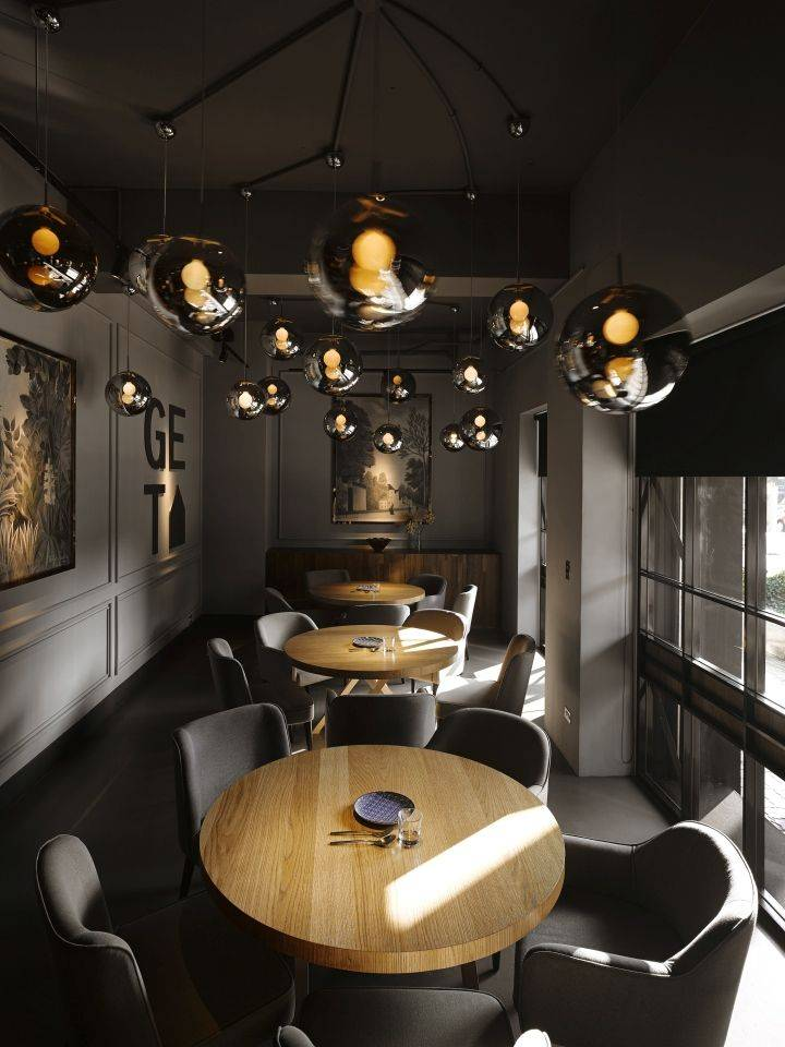 Дизайн кафе и ресторанов, фото