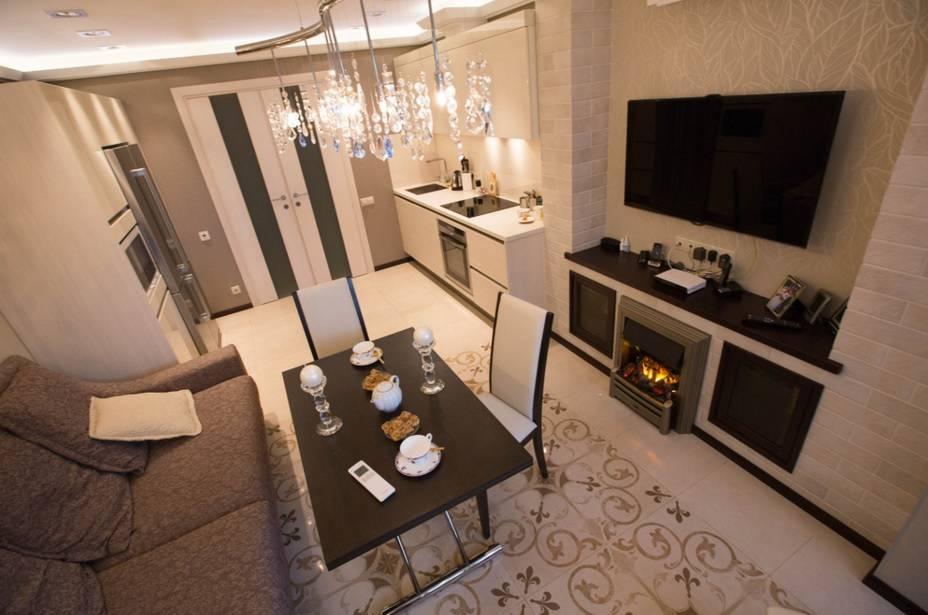 Дизайн 3-комнатной квартиры площадью 60 кв. м