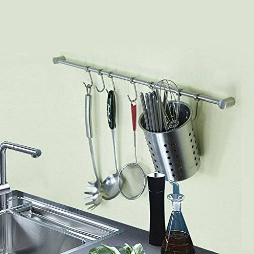Рейлинги для кухни - 100 фото эффективных рейлинговых систем в кухне