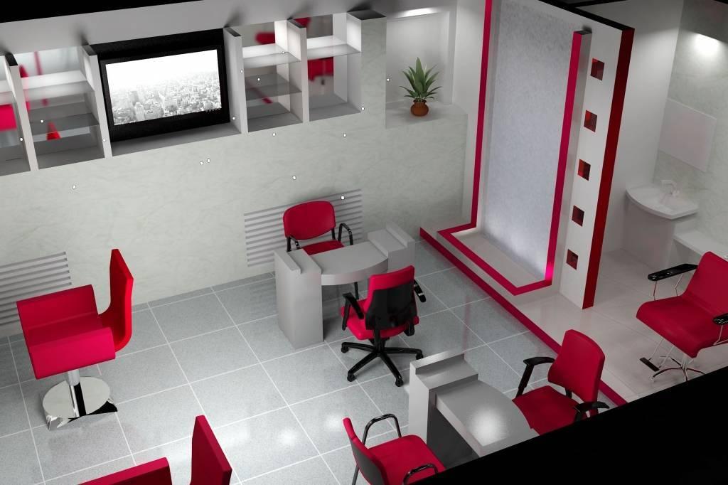 Дизайн парикмахерской +50 фото примеров интерьера