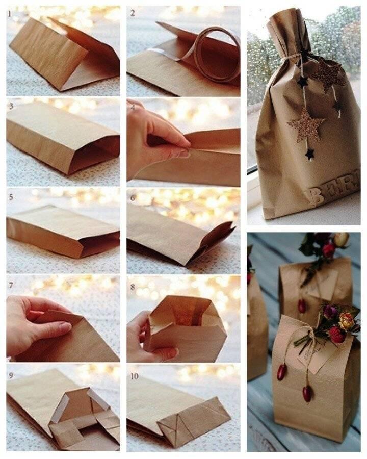 Упаковка подарка своими руками - необычное оформление подарка