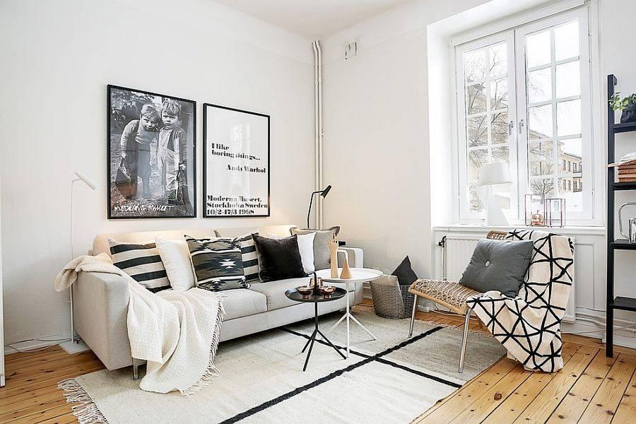 Дизайн штор в скандинавском стиле: особенности, виды, материалы, цветовая гамма