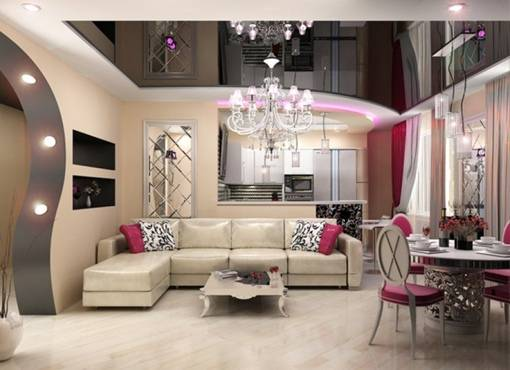 Квартира в стиле арт-деко: доступные идеи оформления (120 фото)