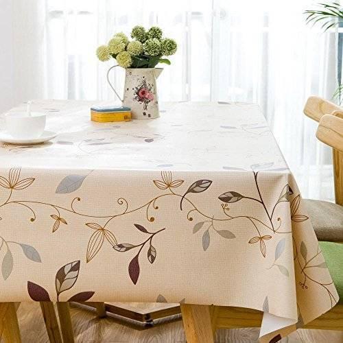 Водоотталкивающие скатерти с пропиткой для кухни