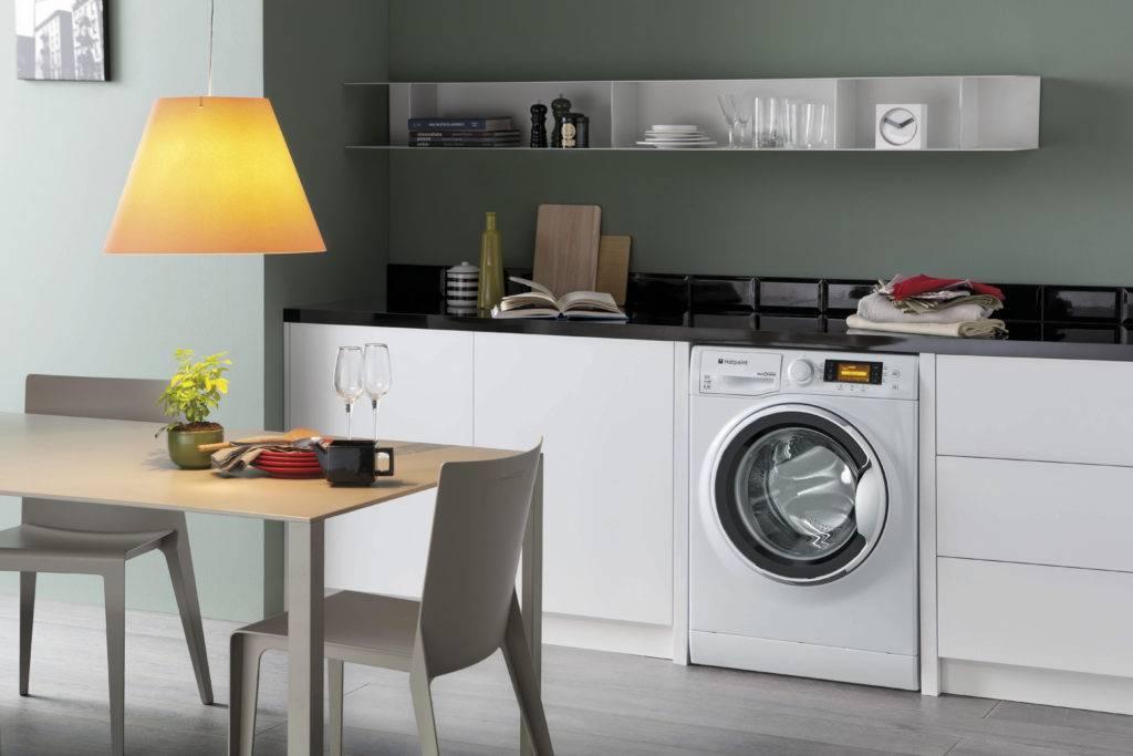 Как встроить стиральную машину в кухню: этапы работ, схемы
