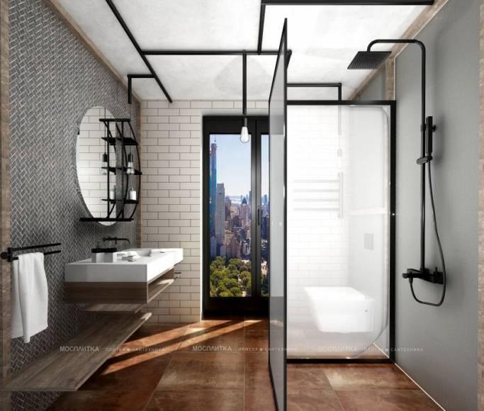 Ванная в стиле лофт - нюансы интерьера