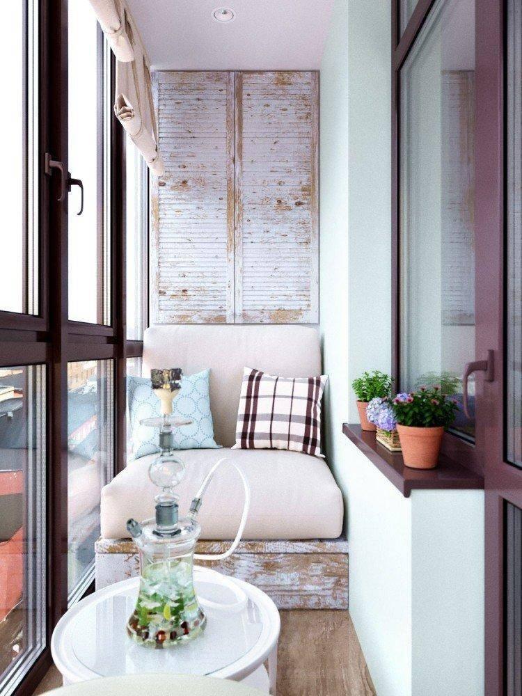 Кабинет на балконе - 77 фото лучших вариантов дизайна и планировки
