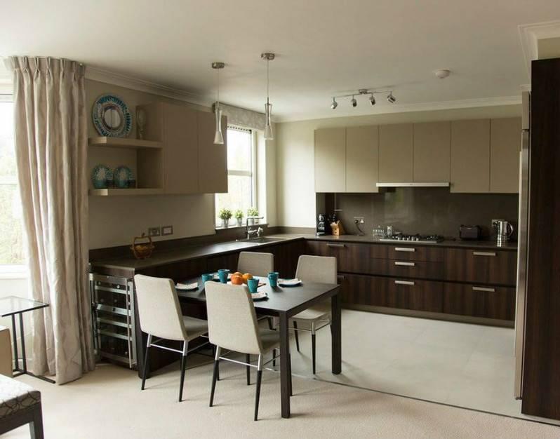 Кухня венге - фото стильных интерьеров и море интересных идей для оформления
