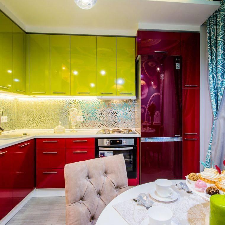 Двухцветные кухни в дизайне интерьера