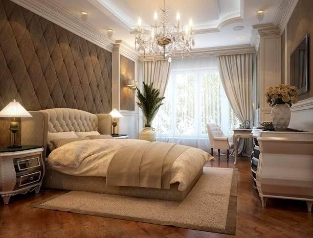 Дизайн спальни, классический стиль, фотографии и рекомендации