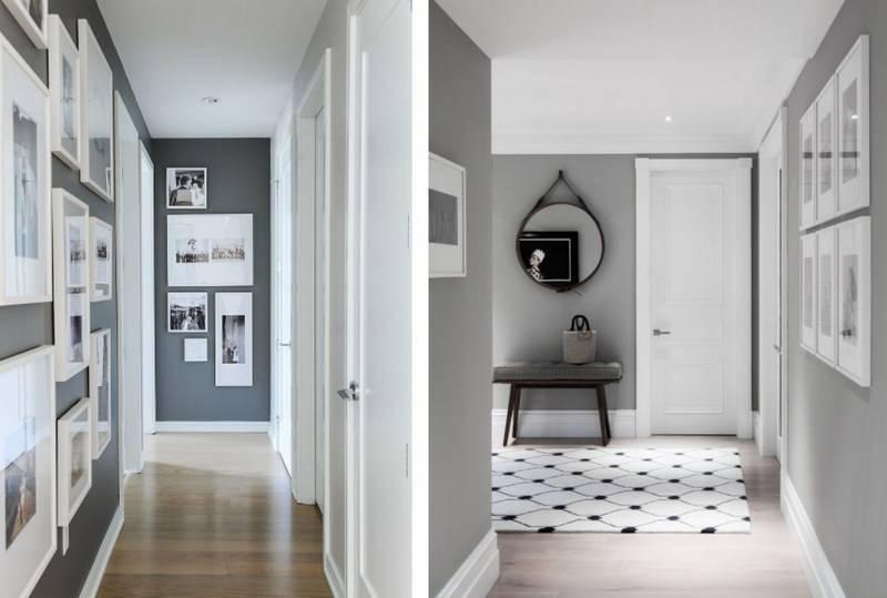 Оформление узкого коридора – особенности, освещение, мебель и прочие мелочи