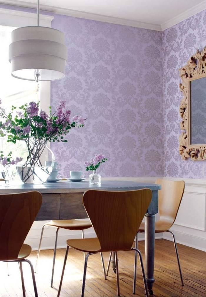 Применение обоев с узором дамаск в интерьере +75 фото идей - «декор» » дизайна и строительство.