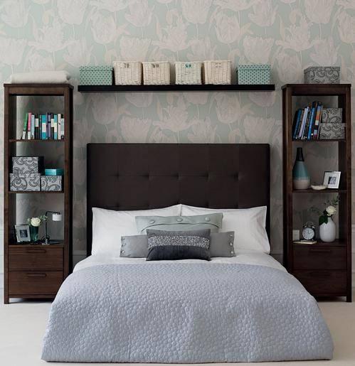 Настенные полки в спальню: где повесить, как сделать своими руками и можно ли обойтись без них