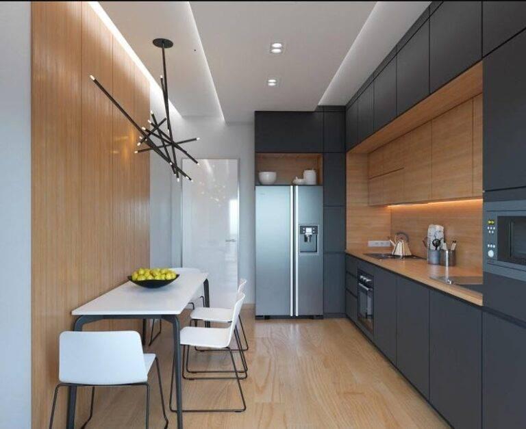Как красиво и правильно создать дизайн кухни 3 на 3 метра