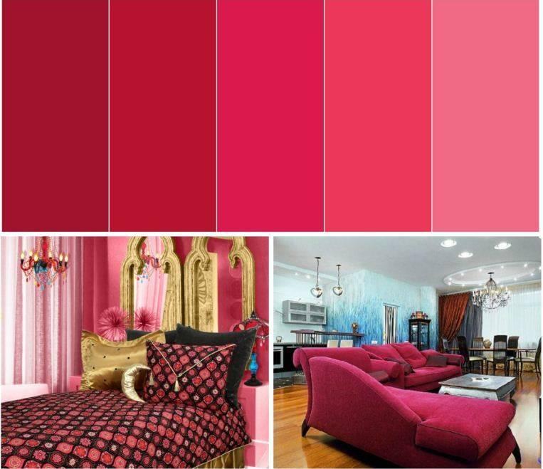 Стены красного цвета: 125 фото идей оформления и украшения разных комнат и помещений