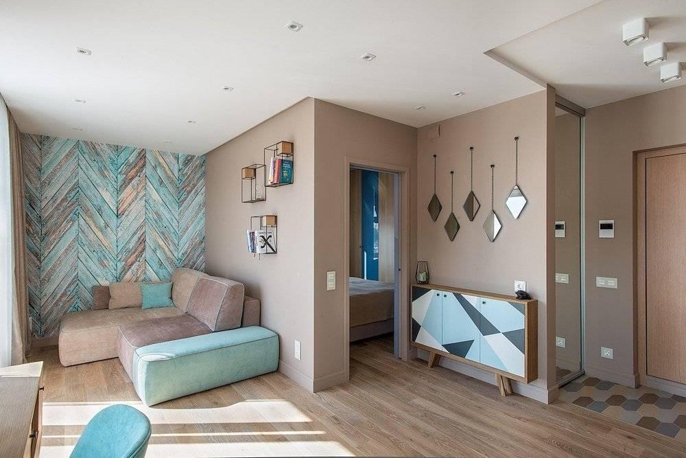 Зонирование однокомнатной квартиры для семьи из 3 человек (+60 фотоидей)
