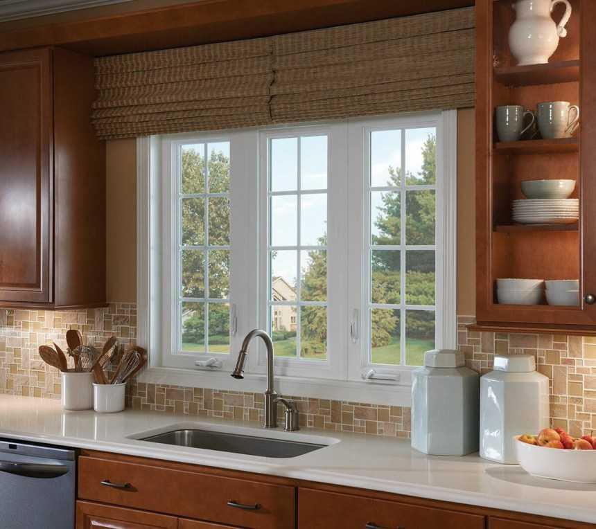 Кухни с окном в рабочей зоне (19 фото интерьеров)