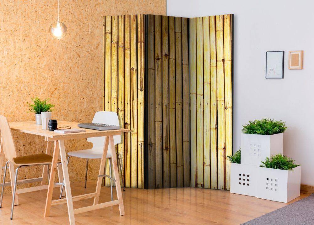 Советы по выбору бамбуковых обоев в прихожую, положительные особенности и уход