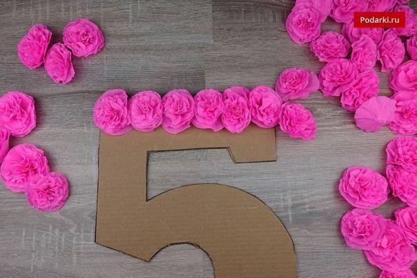 Цифры на день рождения своими руками - 67 фото создания уникальных подарков