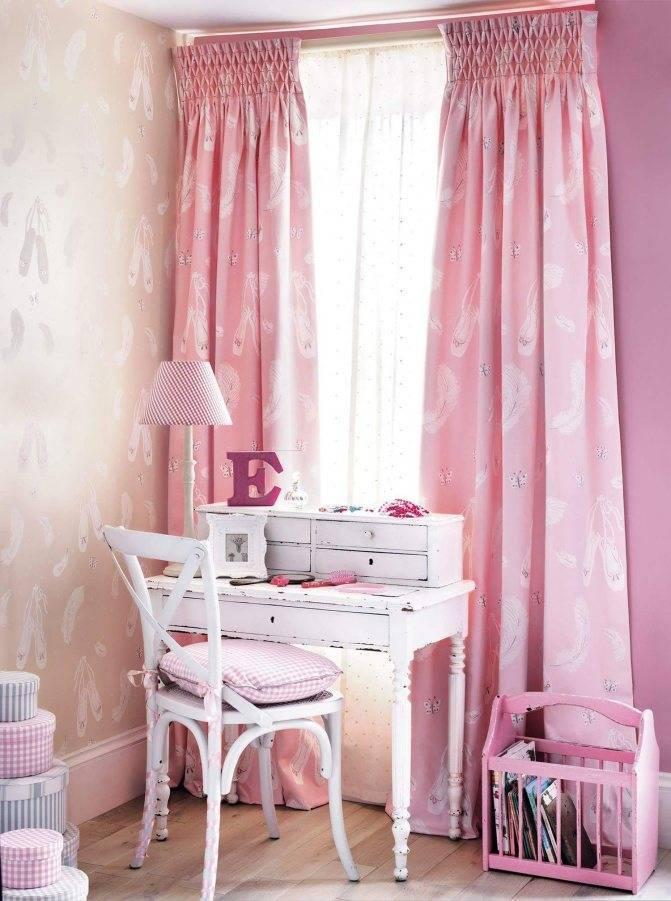 Шторы в комнату девочки-подростка (31 фото): идеи красивых штор в детскую спальню для девочки 16 лет