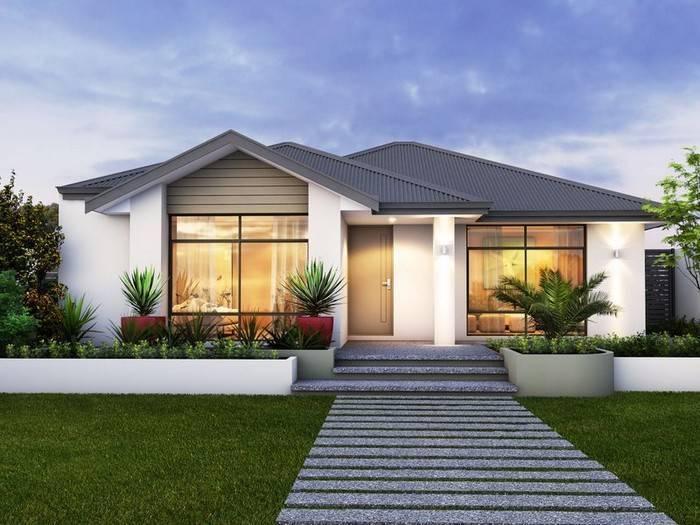 Проекты домов с панорамными окнами