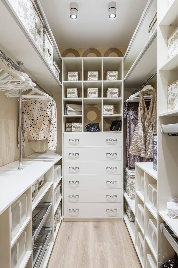 Гардеробные в маленькой спальне - топ-10 лучших идей