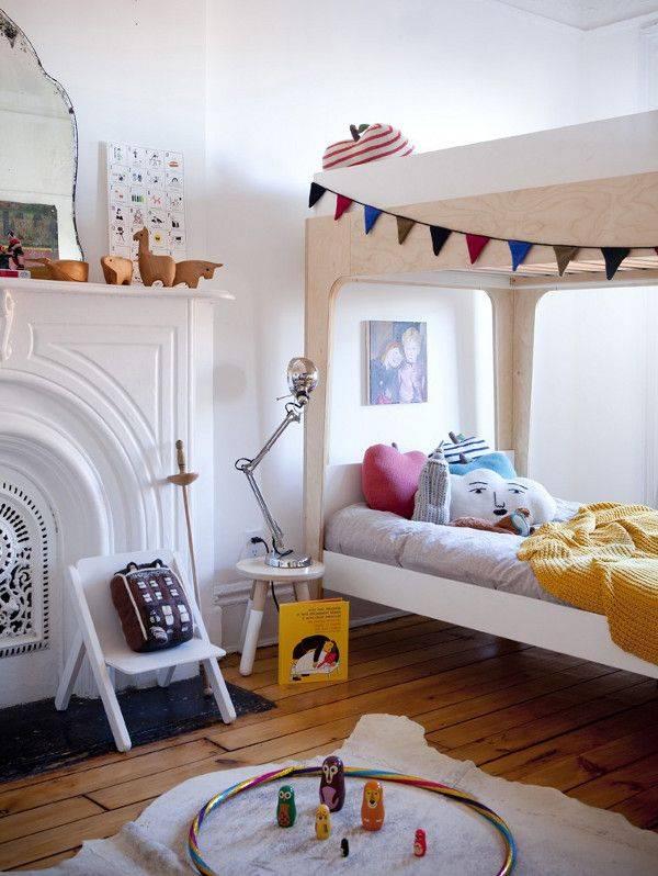 Кровать в детскую комнату: 125 фото современных стильных вариантов