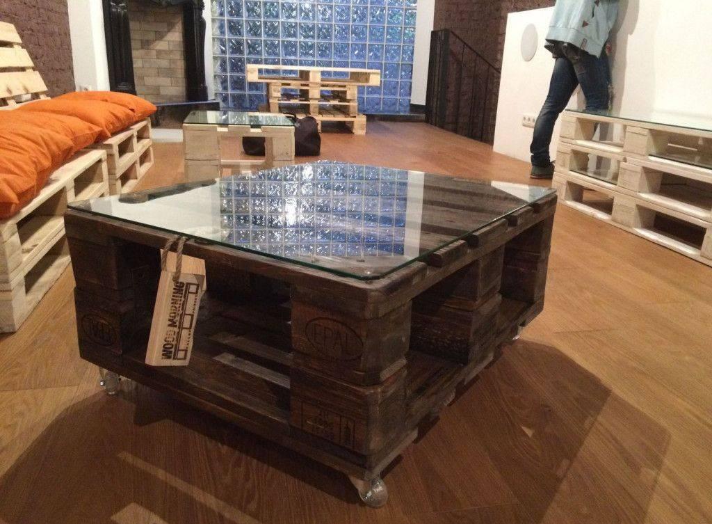 Мебель из поддонов: простые удачные идеи своими руками (130 фото)
