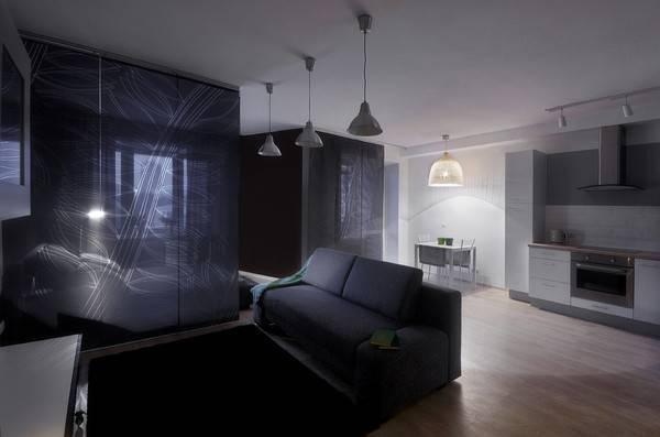 Houzz тур: минимализм на все случаи жизни в квартире холостяка | houzz россия
