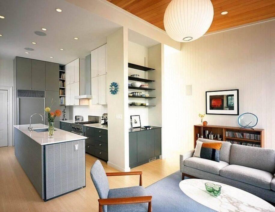 Обзор лучших решений дизайна кухни-гостиной