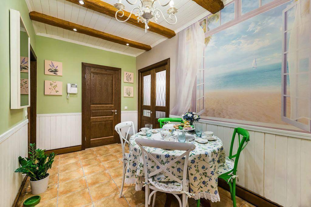 Обои в стиле прованс для спальни, фото и рекомендации по оформлению