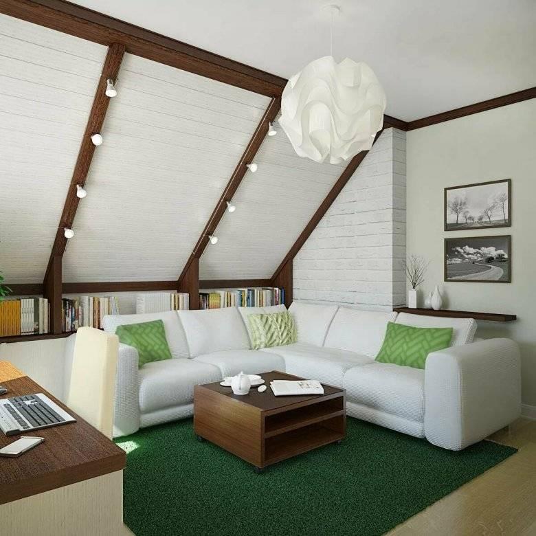 Спальня на мансарде: дизайн, фото, варианты оформления, идеи планировки