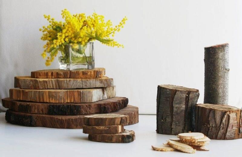 Поделки из спилов дерева своими руками в 2019 году