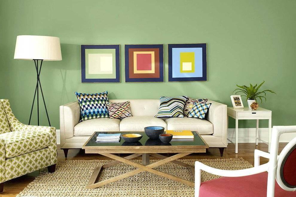 Какие обои выбрать для гостиной: правила дизайна стен