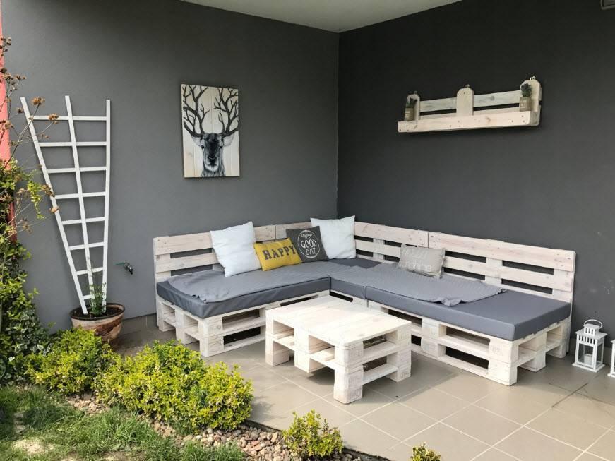 Мебель из поддонов — оригинальная и стильная мебель для улицы и дома! варианты на 115 фото.
