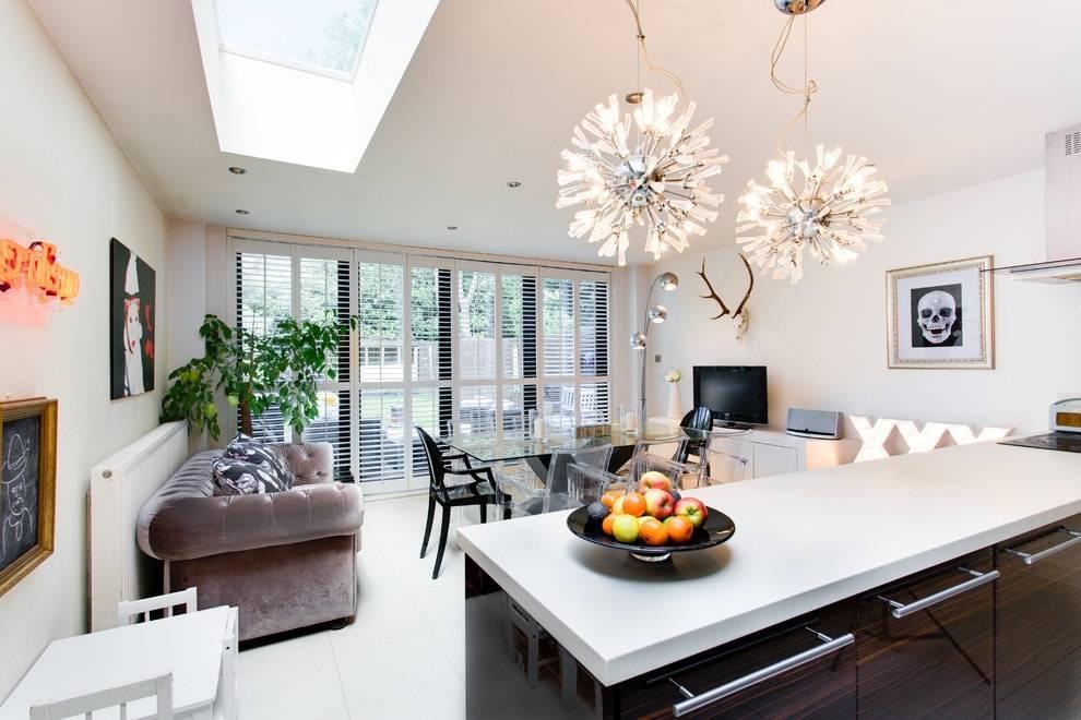 Современные люстры в интерьере: фото, виды, дизайн, стили, обзор по комнатам