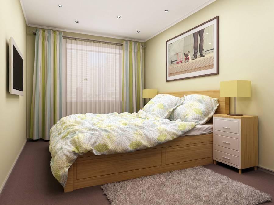 Необычный дизайн спальни 13 кв. м: фото, способы оформления интерьера
